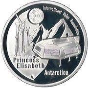 10 Euro - Albert II (International Polar Year) – reverse