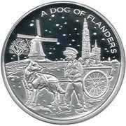 20 Euro - Albert II (A Dog of Flanders) – reverse