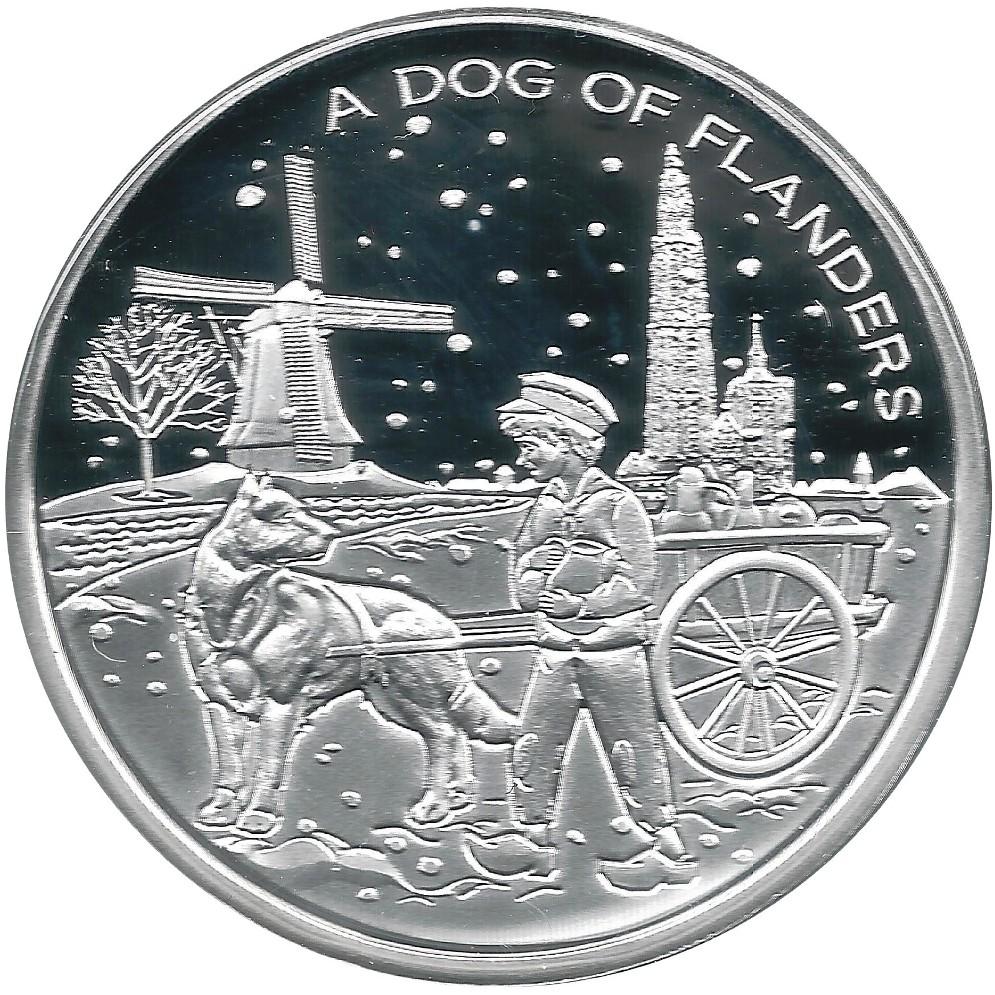 Ο σκύλος της Φλάνδρας σε νόμισμα..
