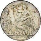 2 Francs - Léopold I (Dutch text; Anniversary of Inauguration) – obverse