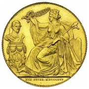 40 Francs  - Léopold I (Anniversary of Inauguration) – obverse