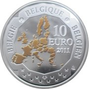10 Euro - Albert II (Belgian Deep Sea Exploration) – obverse