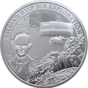 10 Euro - Albert II (Belgian Deep Sea Exploration) – reverse