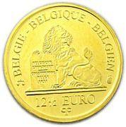 12½ Euro - Albert II (King Leopold III - Dynasty Anniversary) – reverse