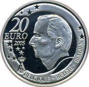 20 Euro - Albert II (FIFA 2006) – obverse