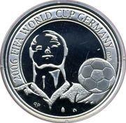 20 Euro - Albert II (FIFA 2006) – reverse
