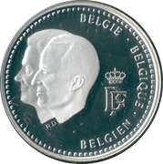 250 Francs - Albert II (Baudouin Foundation) -  obverse