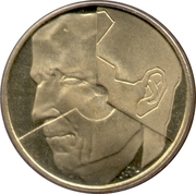 5 Francs - Baudouin I (French text) – obverse