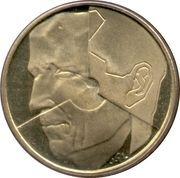 5 Francs - Baudouin I (Dutch text) -  obverse