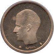 20 Francs - Baudouin I (Dutch text) -  obverse