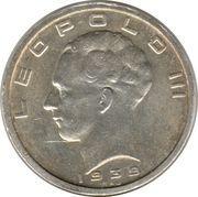 50 Francs - Léopold III (BELGIQUE BELGIE) – obverse
