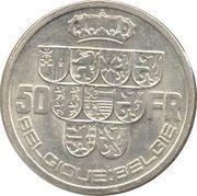 50 Francs - Léopold III (BELGIQUE BELGIE) – reverse