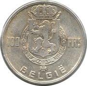 100 Francs - Léopold III (Dutch text) - Kings -  obverse
