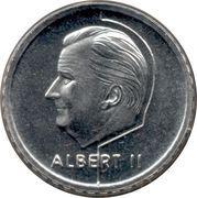 50 Francs - Albert II (dutch text) – obverse