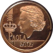 12½ Euro - Albert II (Queen Paola - Dynasty Anniversary) – obverse