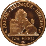 12½ Euro - Albert II (Queen Paola - Dynasty Anniversary) – reverse