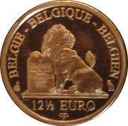 12½ Euro - Albert II (Queen Paola - Dynasty Anniversary) – reverse