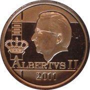 12½ Euro - Albert II (King Albert II - Dynasty Anniversary) – obverse