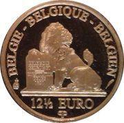 12½ Euro - Albert II (King Albert II - Dynasty Anniversary) – reverse