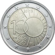 2 Euro - Philippe  (Royal Meteorological Institute) – obverse