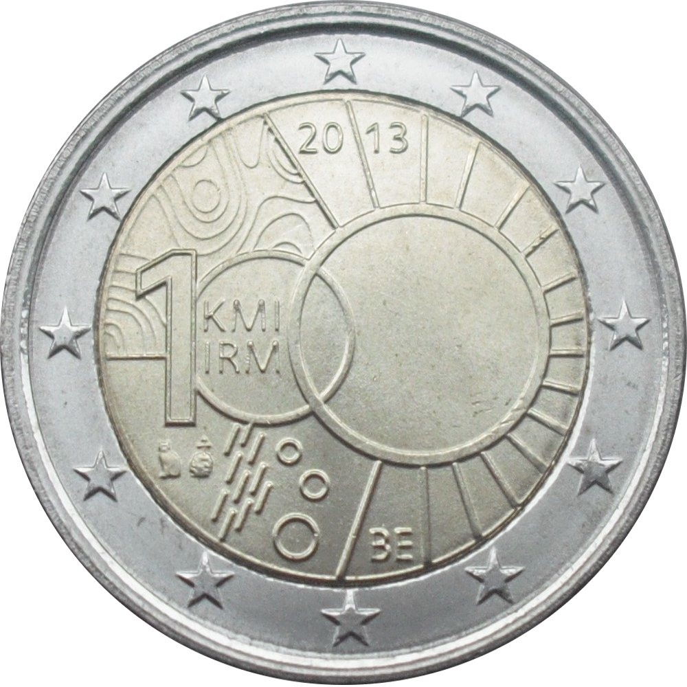 2 euro philippe royal meteorological institute belgium numista
