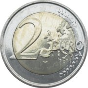 2 Euro - Philippe  (Royal Meteorological Institute) – reverse