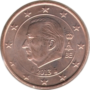 2 Euro Cent - Albert II (2nd type, 1st portrait) -  obverse