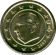10 Euro Cent - Albert II (2nd map, 1st type, 1st portrait) – obverse
