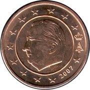 2 Euro Cent - Albert II (1st type, 1st portrait) – obverse