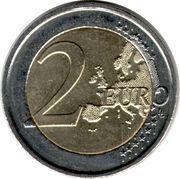 2 Euro - Albert II (2nd map, 2nd type, 1st portrait) -  reverse