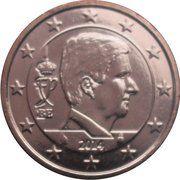 5 Euro Cent - Philippe – obverse