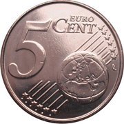 5 Euro Cent - Philippe – reverse