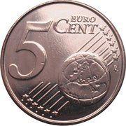 5 Euro Cent - Philippe – reverse