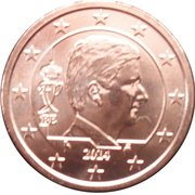 2 Euro Cent - Philippe -  obverse