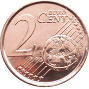 2 Euro Cent - Philippe – reverse