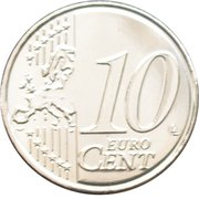 10 Euro Cent - Philippe – reverse
