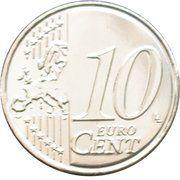 10 Euro Cent - Philippe – reverse