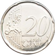 20 Euro Cent - Philippe – reverse