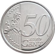 50 Euro Cent - Philippe -  reverse