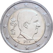 2 Euro - Philippe -  obverse