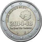 2 Euro - Philippe (WW I Anniversary) – obverse