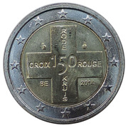 2 Euro - Philippe (Belgian Red Cross) – obverse