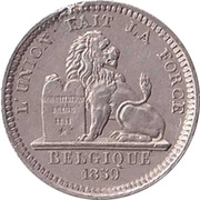 5 Centimes - Léopold I (Essai) – reverse