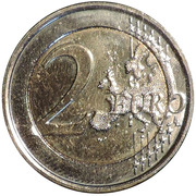 2 Euro - Philippe (European Year for Development) – reverse
