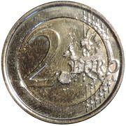 2 Euro - Philippe (European Year for Development) -  reverse
