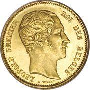 25 Francs - Leopold I – obverse