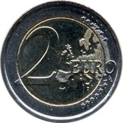 2 Euro (30 Years of EU Flag) – reverse