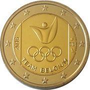 2 Euro (Summer Olympics 2016 in Rio de Janeiro) – obverse