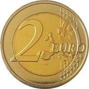 2 Euro (Summer Olympics 2016 in Rio de Janeiro) – reverse