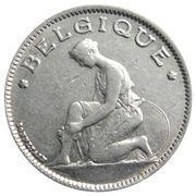 1 Franc - Albert I (French text) -  obverse